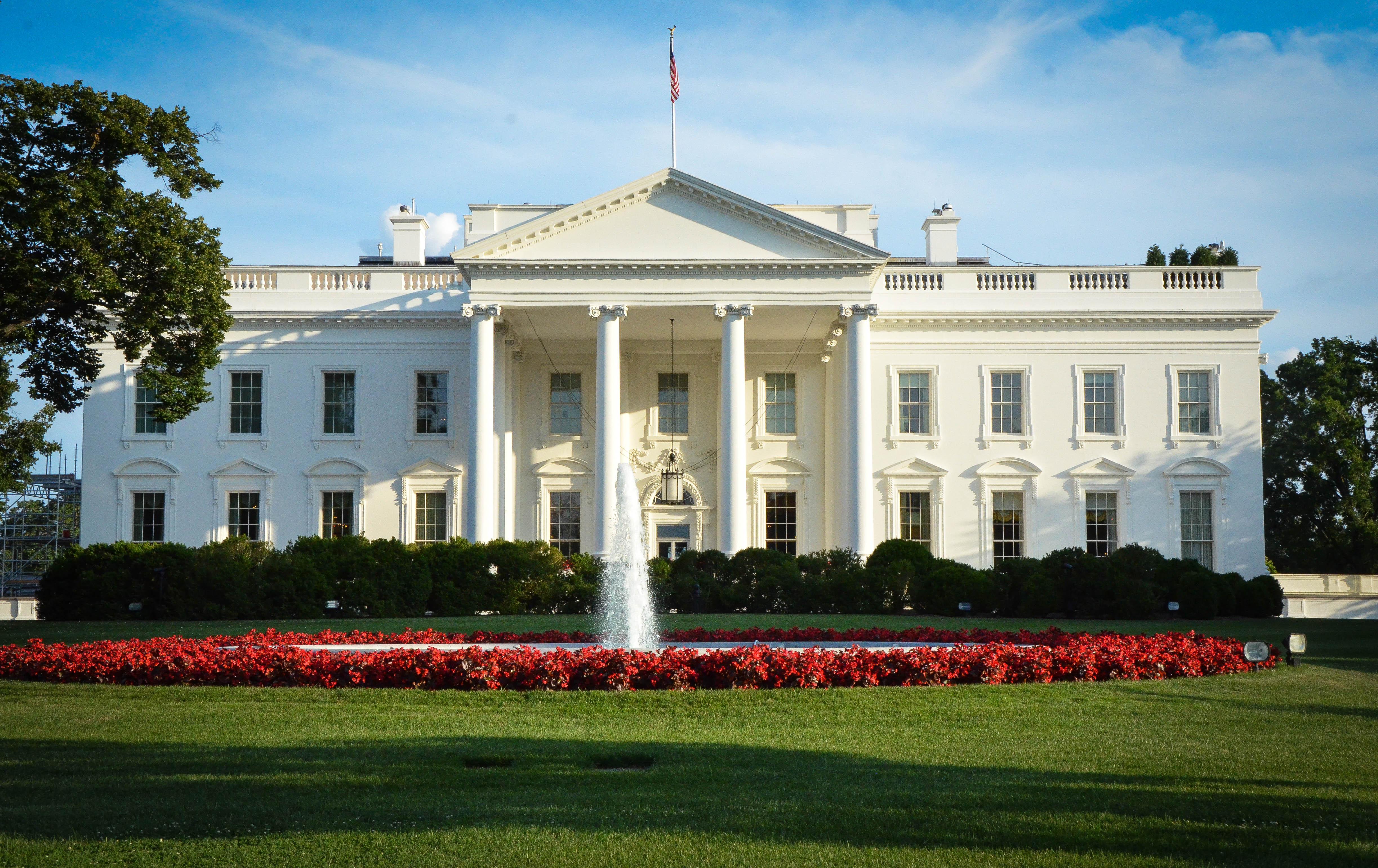 Washington n ra vardagligt och maktcentrum dan frendin for Vita house